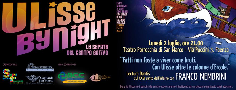 Invito alla Lectura Dantis con Franco Nembrini a Faenza