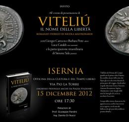 Viteliú - evento di presentazione a Isernia