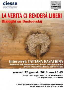 Tat'jana Kasatkina a Trento