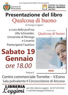 Qualcosa di buono - presentazione ad Ancona
