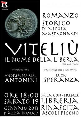 Viteliú - presentazione di Ascoli Piceno