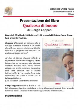 Locandina - Giorgia Coppari-Milano