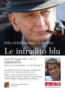 """Felice Achilli presenta """"Le infradito blu"""" a Giussano"""