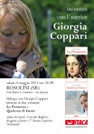 Giorgia Coppari presenta i suoi due romanzi a Rosolini (SR)