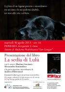 """La sedia di Lulù"" al S. Anna di Ferrara"