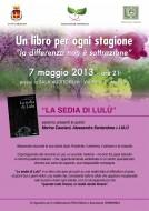"""""""La sedia di Lulù"""" a Molinella"""