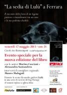 """""""La sedia di Lulù"""" - Evento speciale a Ferrara per la nuova edizione"""