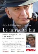 """Felice Achilli presenta """"Le infradito blu"""" a Caravaggio (BG)"""