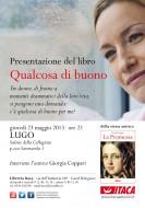 """Giorgia Coppari presenta """"Qualcosa di buono"""" a Lugo di Romagna"""