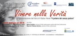 """Presentazione del libro """"Il potere dei senza potere"""" a Verona"""