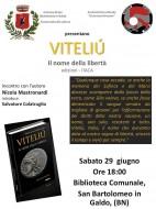 """Presentazione del romanzo """"Viteliu"""" a San Bartolomeo in Galdo"""