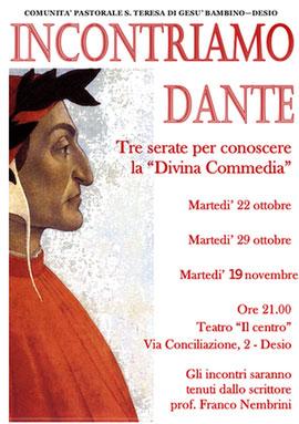 """""""Incontriamo Dante"""" - Franco Nembrini a Desio"""