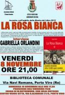 """Presentazione """"La Rosa Bianca"""" (Itaca) a Porto Viro (RO)"""