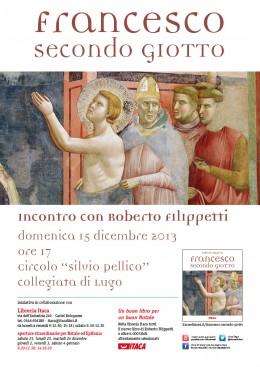 """Roberto Filippetta presenta """"Francesco secondo Giotto"""" a Lugo (RA)"""