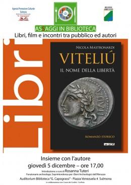 "Presentazione di ""Viteliú"" a Sulmona (AQ)"