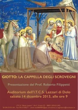 Filippetti presenta la cappella degli Scrovegni a Dolo (VE)
