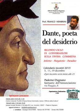 Conversazioni di Franco Nembrini sulla Divina Commedia a Paderno Dugnano (MI)
