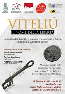 """Presentazione di """"Viteliú"""" al castello di Monteodorisio (CH)"""
