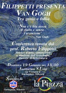 Roberto Filippetti presenta Van Gogh a Garbagnate Milanese