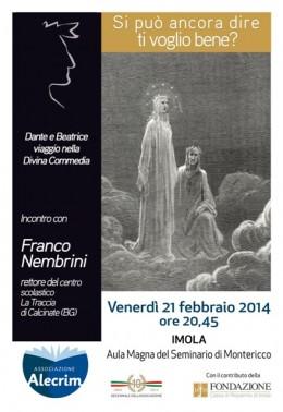 Incontro su Dante con Franco Nembrini - Imola 21-2-2014