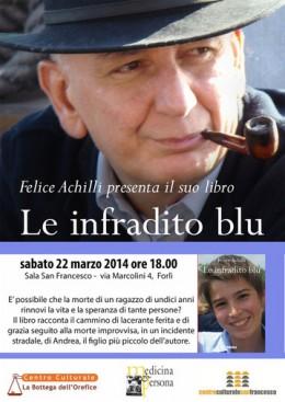 """Presentazione a Forlì del libro """"Le infradito blu"""" di Felice Achilli"""