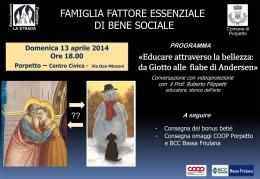 """""""Educare attraverso la bellezza"""": conversazione con Roberto Filippetti a Porpetto (UD)"""