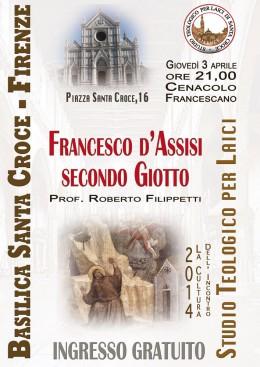 """""""Francesco secondo Giotto"""" - presentazione a Firenze"""