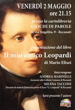 """""""Il mio amico Leopardi"""" - presentazione a Recanati"""