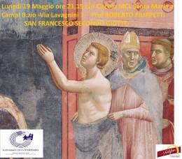"""Presentazione """"Francesco secondo Giotto"""" a Campi Bisenzio (FI)"""