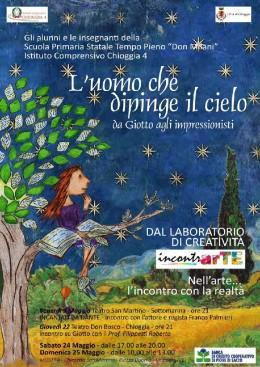 """Roberto Filippetti presenta """"Giotto"""" a Chioggia (VE)"""