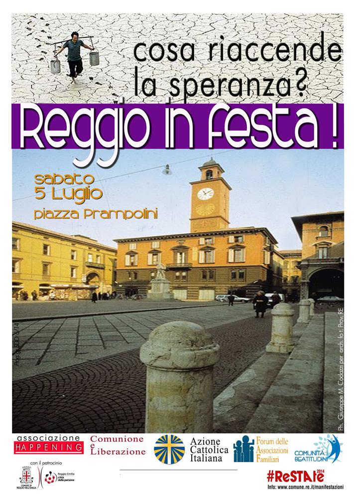Cattarina alla manifestazione Reggio in Festa