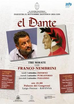"""""""El Dante"""" - Tre serate a Ravenna con Franco Nembrini"""