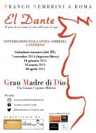 El Dante - Franco Nembrini a Roma, Parrocchia Gran Madre di Dio
