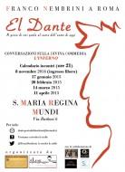 El Dante - Franco Nembrini a Roma, S. Maria Regina Mundi