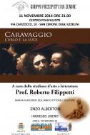 """""""Caravaggio"""": Roberto Filippetti a San Zenone degli Ezzelini"""