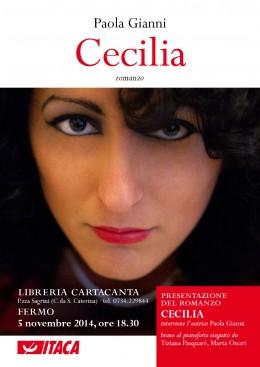 """Presentazione del romanzo """"Cecilia"""" a Fermo"""