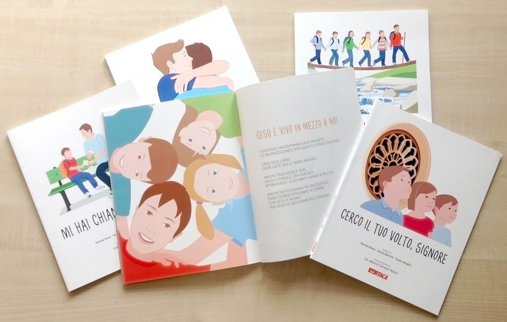 Percorso elementare di religione in cinque volumi