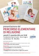 """Presentazione a Milano del """"Percorso elementare di religione"""""""