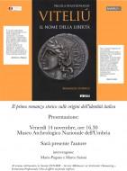 """""""Viteliú"""": presentazione a Perugia"""