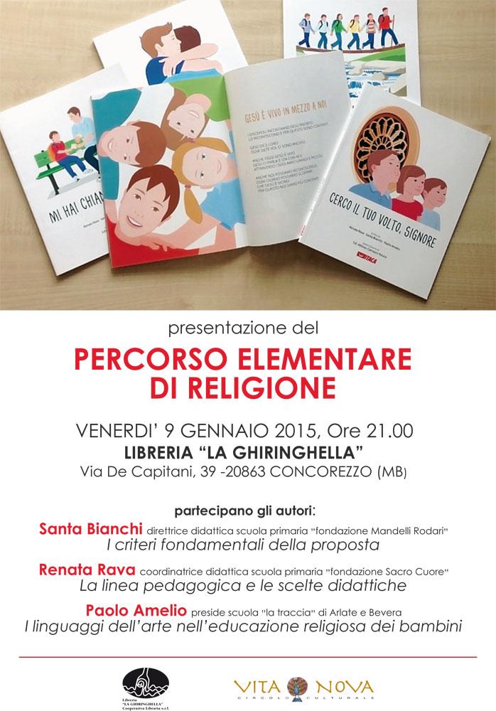 Percorso elementare di religione - Presentazione a Concorezzo (MB)