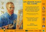 """""""Van Gogh. Un grande fuoco nel cuore"""" - Presentazione a Lomazzo (CO)"""