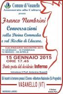 Franco Nembrini a Vasanello - Conversazioni sulla Divina Commedia e sul rischio di educare