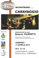 """""""Caravaggio"""" - presentazione di Roberto Filippetti a Corridonia (MC)"""