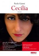 """""""Cecilia"""" - presentazione del romanzo di Paola Gianni a Grottammare (AP)"""