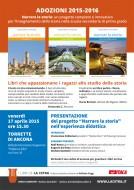 """""""Narrare la storia"""" - presentazione a Torrette di Ancona, 17 aprile 2015"""