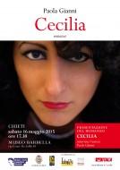 """""""Cecilia"""" - presentazione a Chieti, nel calendario del Maggio Teatino"""