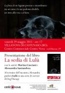 """""""La sedia di Lulù"""" - presentazione a Villanova di Castenaso (BO)"""