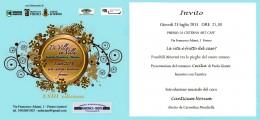 """""""Cecilia"""" di Paola Gianni - presentazione del romanzo a Fermo - 23.07.2015"""