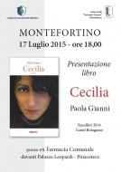"""""""Cecilia"""" di Paola Gianni - presentazione del romanzo a Montefortino - 17.07.2015"""
