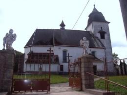 La chiesa di Číhošt' (foto T. Menotti).